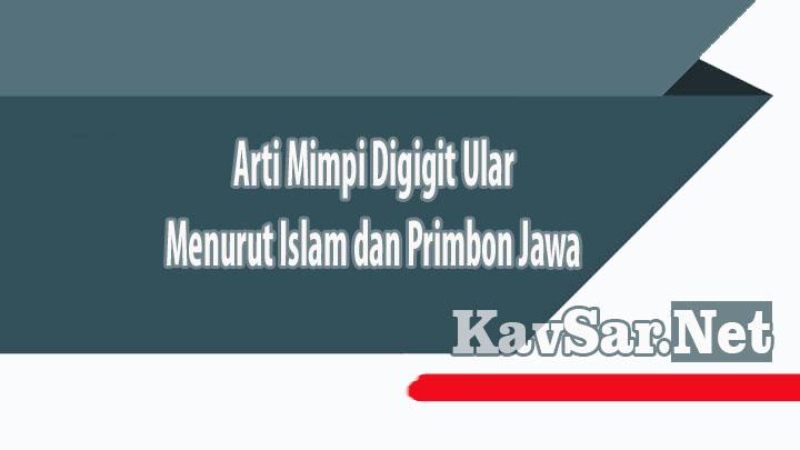Arti Mimpi Digigit Ular Menurut Islam dan Primbon Jawa