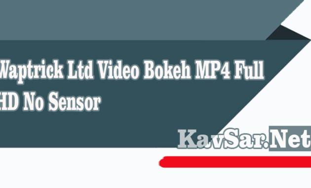 Waptrick Ltd Video Bokeh MP4 Full HD No Sensor
