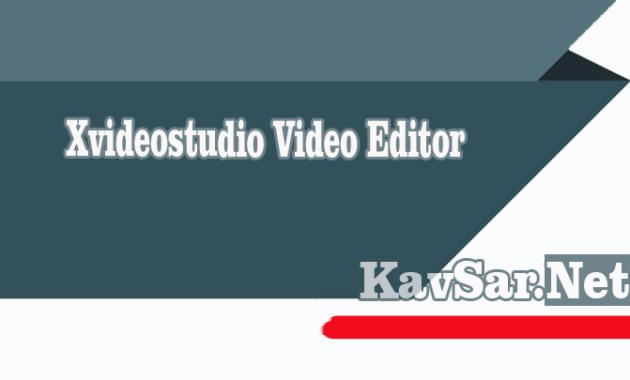 Xvideostudio Video Editor