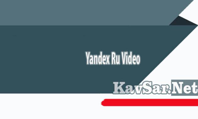 Yandex Ru Video